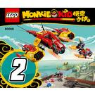LEGO Monkie Kid's Cloud Jet Set 80008 Instructions
