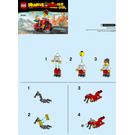 LEGO Monkie Kid's Delivery Bike Set 30341 Instructions