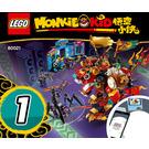 LEGO Monkie Kid's Lion Guardian Set 80021 Instructions