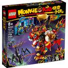 LEGO Monkie Kid's Lion Guardian Set 80021 Packaging