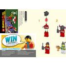 LEGO Monkie Kid's RC Race Set 40472 Instructions