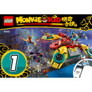 LEGO Monkie Kid's Team Dronecopter Set 80023 Instructions