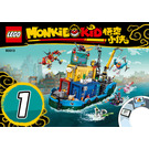 LEGO Monkie Kid's Team Secret HQ Set 80013 Instructions