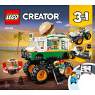 LEGO Monster Burger Truck Set 31104 Instructions