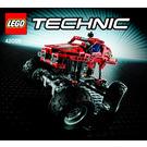 LEGO Monster Truck Set 42005 Instructions