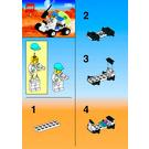 LEGO Moon Buggy Set 1265 Instructions