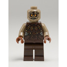 LEGO Mordor Orc Dark Tan Bald Minifigure