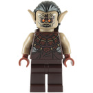 LEGO Mordor Orc Dark Tan with Hair Minifigure