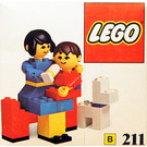 LEGO Mother and baby with dog Set 211-1