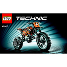 LEGO Moto Cross Bike Set 42007 Instructions