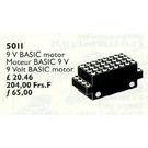 LEGO Motor for Basic Set 810, 9 V 5011