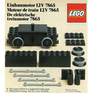 LEGO Motor Replacement Unit for Battery or Motor-Less Trains 12 V Set 7865