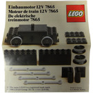 LEGO Motor Replacement Unit for Battery or Motor-Less Trains 12 V Set 7865 Instructions