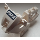 LEGO Motorcycle Fairing with Police (Blue Background) Sticker (52035)