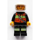 LEGO Motorcycle Fireman Minifigure