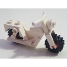 LEGO Motorcycle Old Style with Red Wheels