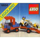 LEGO Motorcycle Transport Set 6654