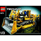 LEGO Motorized Bulldozer Set 8275 Instructions