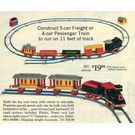 LEGO Motorized Freight or Passenger Train (Sears Exclusive) Set 118-3