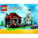 LEGO Mountain Hut Set 31025 Instructions