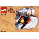 LEGO Mountain Sleigh Set 7423