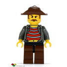 LEGO Mr Cunningham with Black Hips and Brown Legs Minifigure