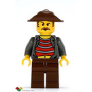 LEGO Mr Cunningham with Brown Hips and Legs Minifigure