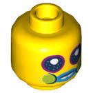 LEGO Mr. Dinkles Plain Head (Recessed Solid Stud) (3626 / 66839)