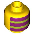 LEGO Mr. Dinkles Plain Head (Recessed Solid Stud) (3626 / 66840)