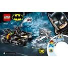 LEGO Mr. Freeze Batcycle Battle Set 76118 Instructions