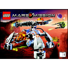 LEGO MT-201 Ultra-Drill Walker Set 7649 Instructions