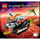 LEGO MT-61 Crystal Reaper Set 7645 Instructions