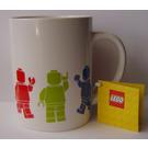 LEGO Mug - Minifigures (White) (853132)