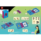 LEGO Mulan's Storybook Adventures Set 43174 Instructions