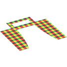 LEGO Multi-Color Plaid Camper-Van Window Curtain (97122)