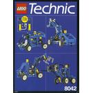 LEGO Multi Model Pneumatic Set 8042