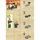 LEGO Mummy and Cart Set 1183 Instructions