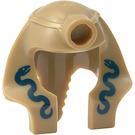 LEGO Mummy Warrior with Dark Tan Headdress Minifig Mummy Headdress with Inside Solid Ring (90462 / 93851)