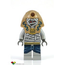 LEGO Mummy Warrior with Dark Tan Headdress Minifigure
