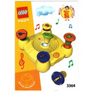 LEGO Music Composer Set 3364 Instructions