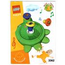 LEGO Music Tapper Set 3362 Instructions