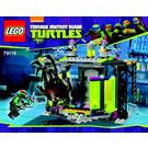 LEGO Mutation Chamber Unleashed Set 79119 Instructions
