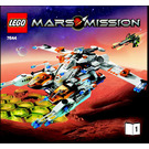 LEGO MX-81 Hypersonic Operations Aircraft Set 7644 Instructions