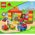 LEGO My First Supermarket Set 6137 Instructions