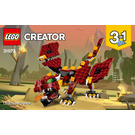 LEGO Mythical Creatures Set 31073 Instructions