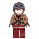 LEGO Naboo Fighter Pilot with Medium Dark Flesh Jacket Minifigure