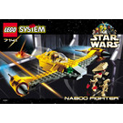 LEGO Naboo Fighter Set 7141 Instructions