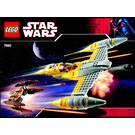 LEGO Naboo N-1 Starfighter with Vulture Droid Set 7660 Instructions
