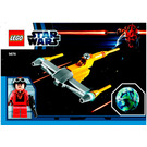 LEGO Naboo Starfighter & Naboo Set 9674 Instructions