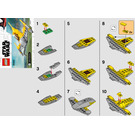 LEGO Naboo Starfighter Set 30383 Instructions